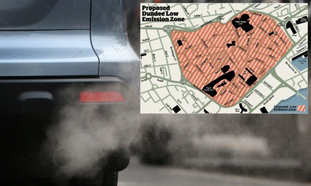 Could your car be banned from Dundee city centre in new ...
