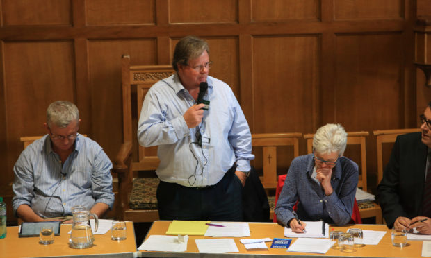 Earn Community Council chairman John Bruce has put his suggestion to healthcare bosses having organised a public meeting with NHS Tayside representatives last month.