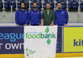 The Dundee Stars fundraising for the foodbank.