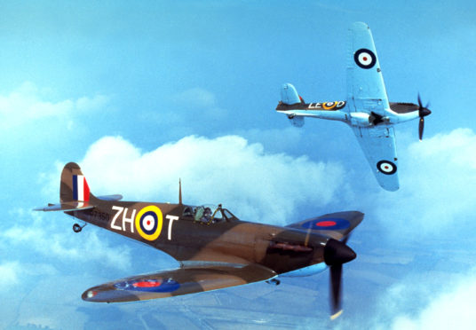 Battle of Britain is 50 years old on September 16.