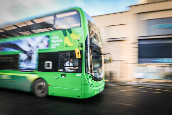 Bus companies say they have invested in vehicles that are more environmentally friendly.
