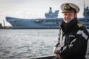 Captain Darren Houston will be at the helm of HMS Prince of Wales on her maiden voyage.