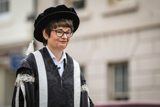 University of St Andrews Principal, Sally Mapstone.