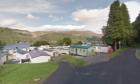 Loch Earn Caravan park