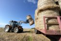 Farmers are advised against overloading trailers.