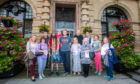 Members of charity PLUS Perth, shortly before the controversial July meeting of the Perth and Kinross Integration Joint Board