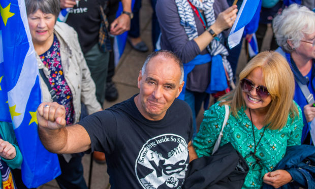 Tommy Sheridan in Perth this weekend.