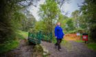 Councillor Sheila McCole has welcomed the works at Buckie Braes, pictured, and Craigie Hill Community Woodland.