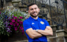 Robert Snodgrass at the team hotel at Dalmahoy..