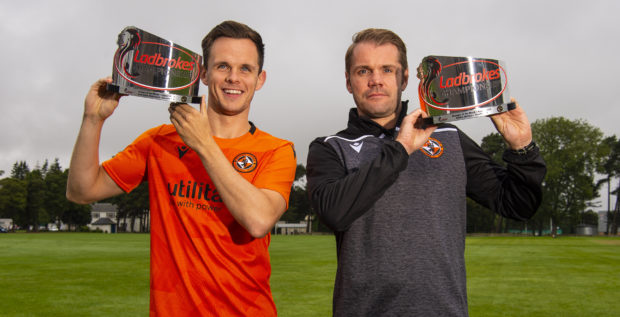 Lawrence Shankland and Robbie Neilson.