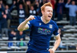 Dundee frontman Danny Johnson insists leaders Dundee United are still catchable