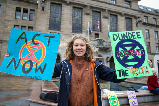 Schools give Tayside and Fife pupils permission to miss classes to protest climate change - The Courier
