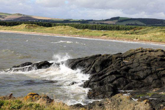 The beach at Shell Bay.