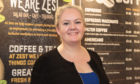 Lisa Cathro, owner of social enterprise Zest Cafe in St Andrews.