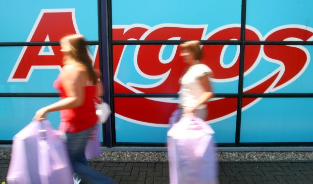 Argos has several stores in Tayside and Fife