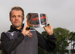 Dundee United boss Robbie Neilson collects another manager of the month award