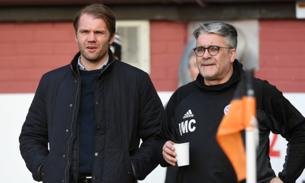 Robbie Neilson and Ian McCall.