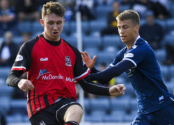 Dundee striker Andrew Nelson has every right to be unhappy at not starting, says James McPake