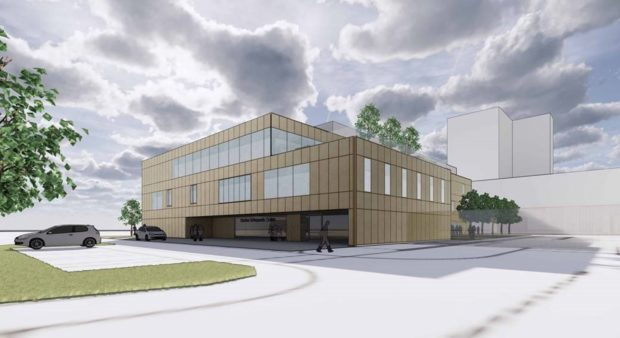 How the orthopaedics centre is expected to look