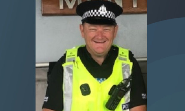 PC Roy Buggins.