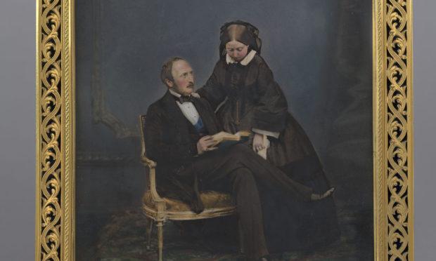 Queen Victoria and Prince Albert, 1860