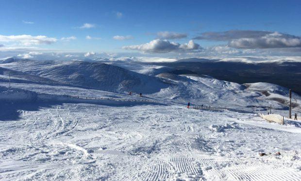 Cairngorm Mountain ski centre.