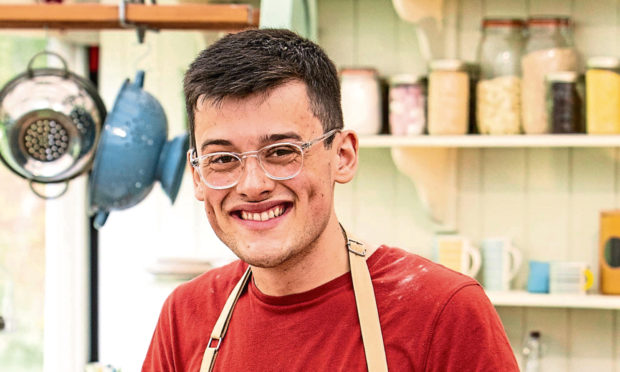 Michael Chakraverty from The Great British Bake Off 2019.