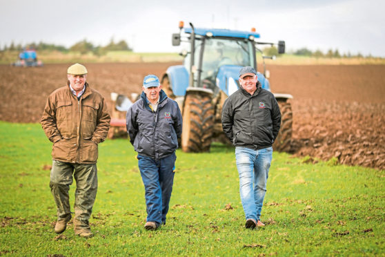 Bowhouse, part of Balcaskie Estate, is hosting Scotland's Ploughing Championships.