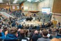 Aberdeen-Angus bull averages were back £1,141 on the same sale last year.