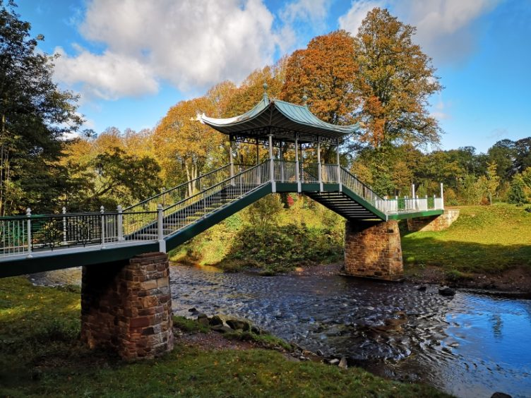 The Chinese Bridge, Dumfries House