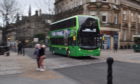 One of the fleet of Emerald busses bought by Xplore Dundee.
