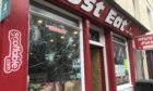 Must Eat on North Methven Street was targeted by vandals on Thursday night.