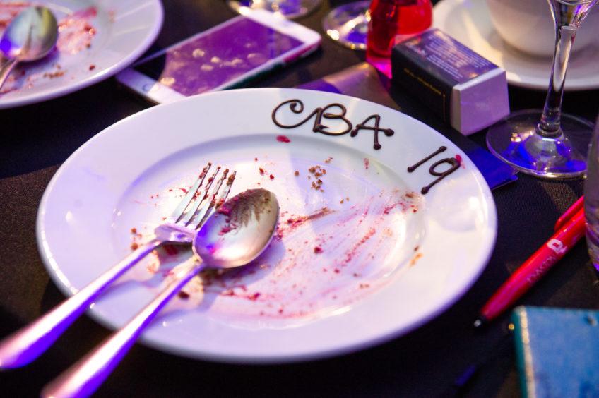 Dessert plate emptied, until next year.