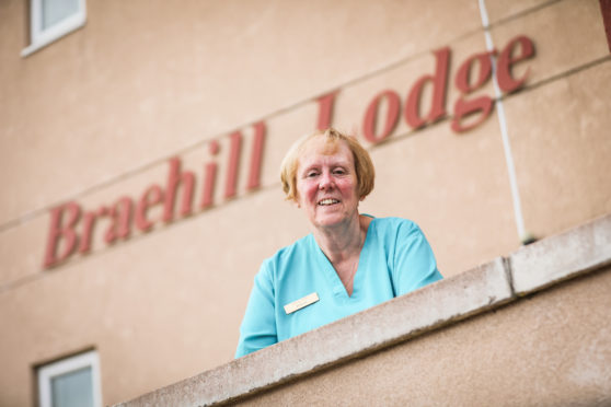 Sheila Whyte won the Scottish Care Award - The Colin McNab palliative and end of life care prize - for the whole of Scotland.
