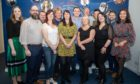 2019 Kingdom FM team members: L to R:  Kirsty Letham, Barry Snedden, Stuart Prentice, Gemma McLean, John Murray, Vanessa Motion, Dave Connor, Stacey Wallace, Adam Findlay, Matt Shields, Vivian Clarkson, Tony Chalmers and Sophie Wallace