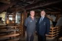 Trust Director David Strachan and Cllr Murray Lyle on the site. Picture: Kenny Smith.