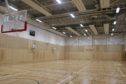 Menzieshill Community Hub features two large sports halls