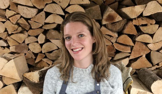 Rachel Rowley of Ballintaggart Farm, near Pitlochry.