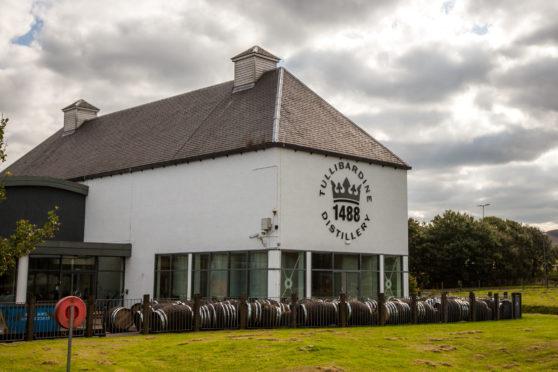 Tullibardine Distillery, Blackford.