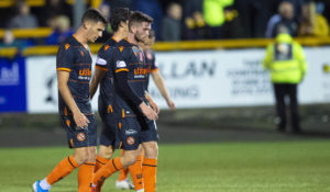 Dundee United boss Robbie Neilson criticises players for avoiding the 'dirty work'