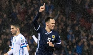 Scotland striker Lawrence Shankland given place on Dundee United's board of honour