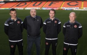 Dundee United manager Robbie Neilson and sporting director Tony Asghar share European dream after new deal is agreed