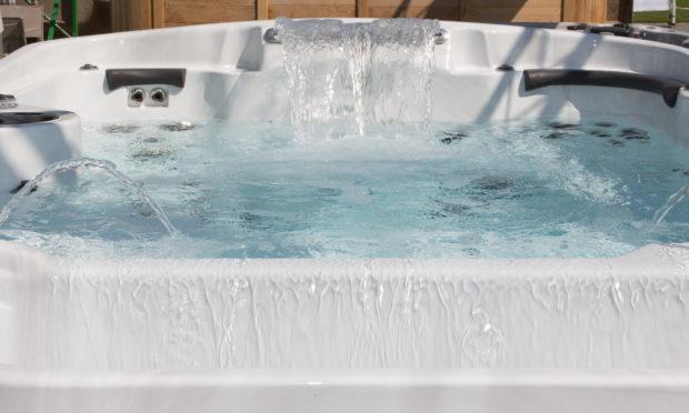 Hot tub (stock image).