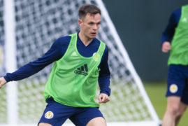 Dundee United striker Lawrence Shankland reveals Scotland thoughts had to wait until after derby win