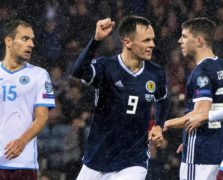Dundee United's Lawrence Shankland hopes Scotland goal is first of many