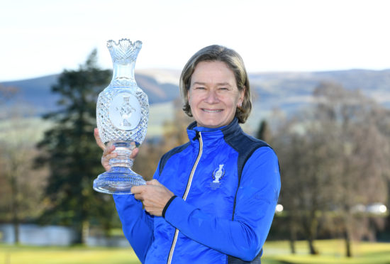 Catriona Matthew will again be captain in 2021 as Europe defends the Solheim Cup.