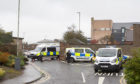 The incident at Marketgate, Arbroath.