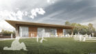 An architects impression of the new centre by Aim Design.