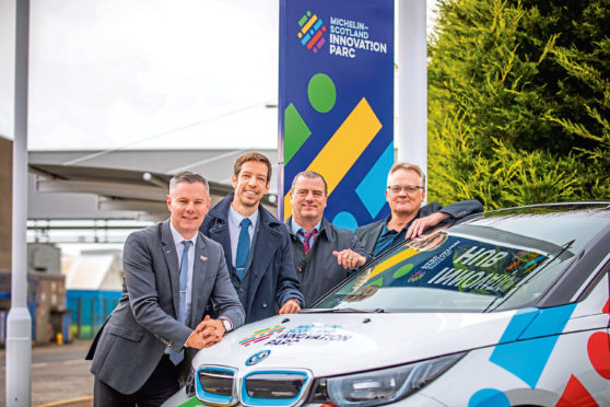 Finance Secretary Derek Mackay says Michelin's investment in Dundee sets 'benchmark' - The Courier