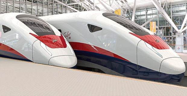 Talgos lightweight trains could be manufactured in Fife.